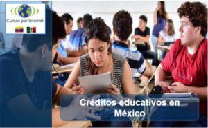 créditos educativos